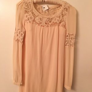 Love 21 blush tunic/dress, S/P